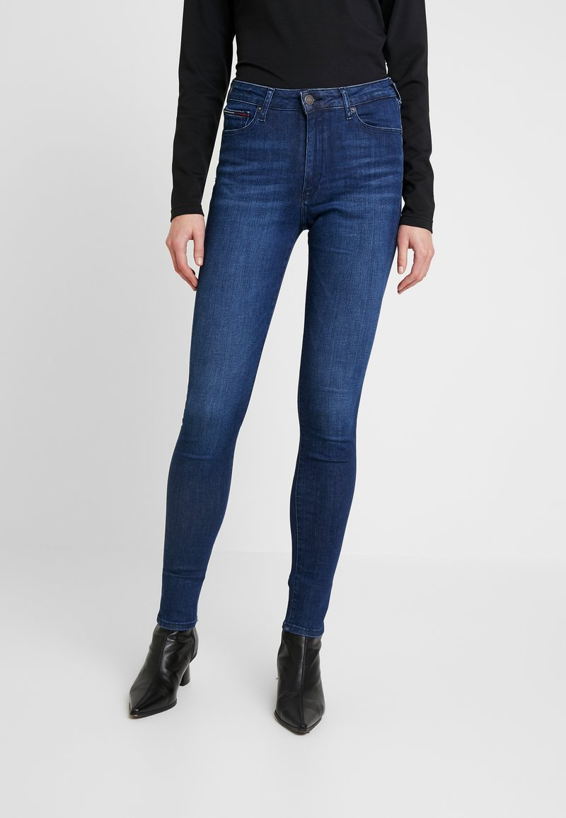 Tommy Jeans - HIGH RISE - Jeans Skinny Fit - cropsey