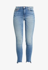 Tommy Jeans - NORA MID RISE ANKLE - Jeans Skinny - blue denim - 4