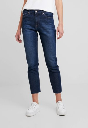 HIGH RISE SLIM IZZY CROP ACDK - Slim fit jeans - ace dk bl com