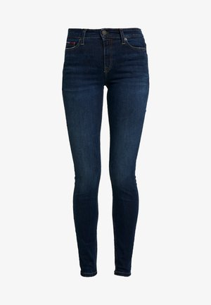 MID RISE NORA - Jeans Skinny Fit - hawaii blue
