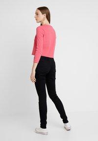 Tommy Jeans - HIGH RISE - Jeans Skinny Fit - black denim - 2