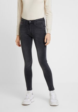 HIGH RISE - Jeans Skinny Fit - plush granite