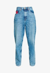 Tommy Jeans - MOM JEAN  - Relaxed fit jeans - save light blue rig - 4