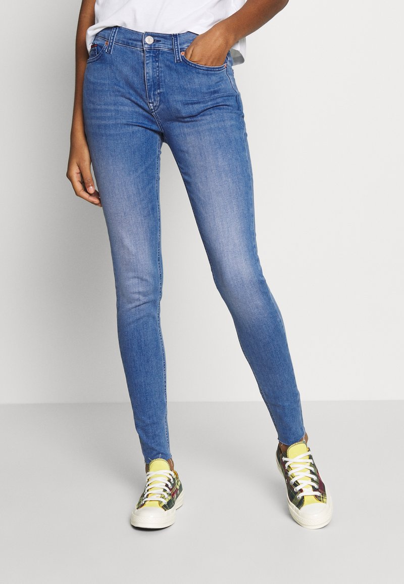 Tommy Jeans - NORA ANKLE  - Jeans Skinny Fit - light blue denim