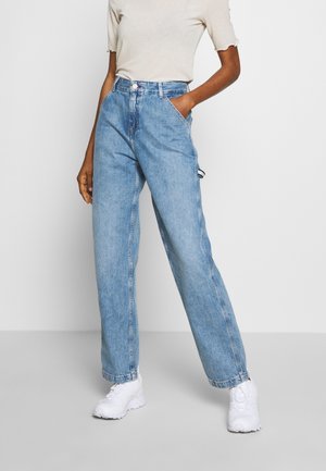 HIGH RISE CARPENTER - Relaxed fit jeans - light-blue denim