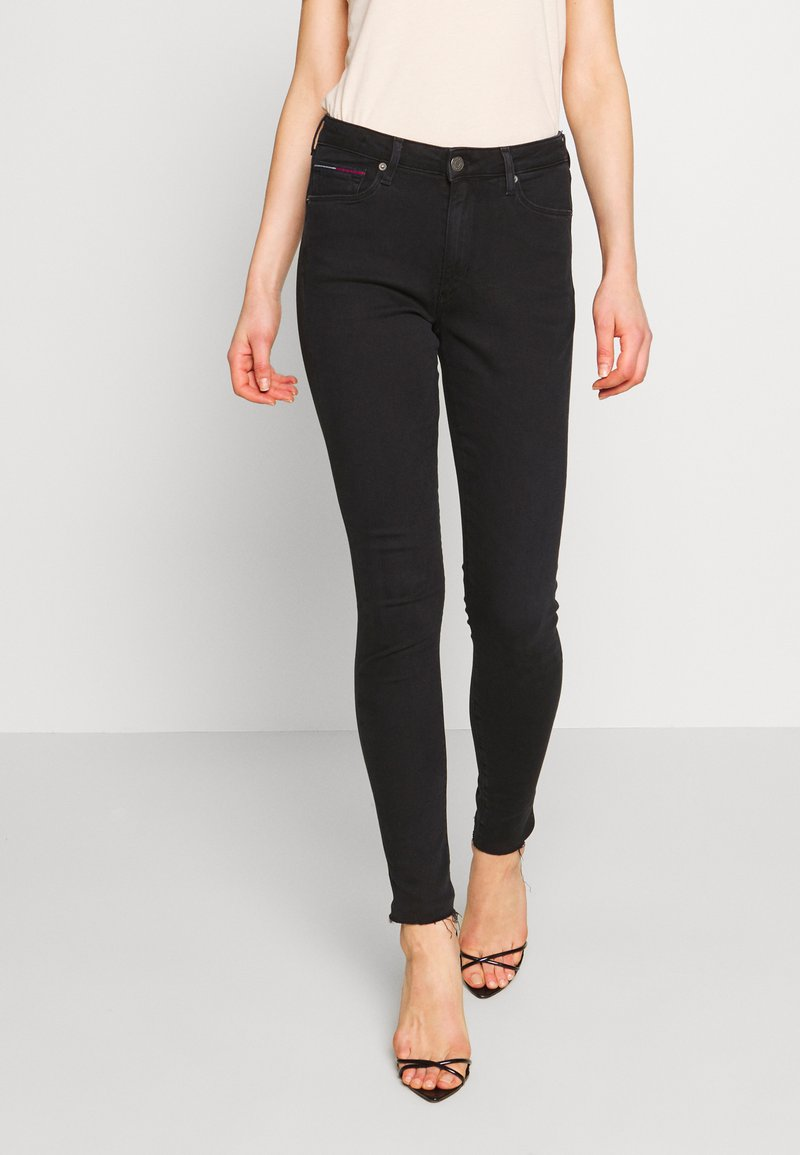 Tommy Jeans - SYLVIA SUPER ANKLE  - Jeans Skinny Fit - jess bk str