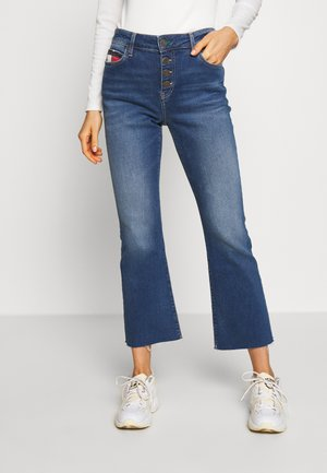 KATIE CROP FLARE SVMST - Flared jeans - save mid