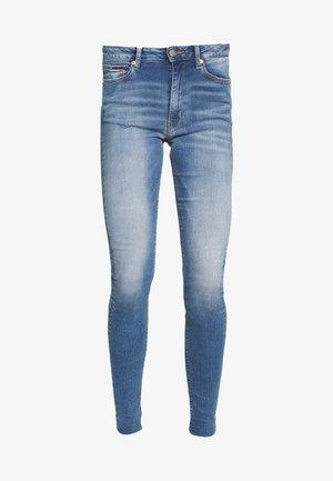 SYLVIA SUPER ANKLE - Jeans Skinny Fit - blue denim