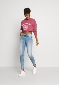 Tommy Jeans - NORA ANKLE ZIP - Jeans Skinny - light-blue denim - 1