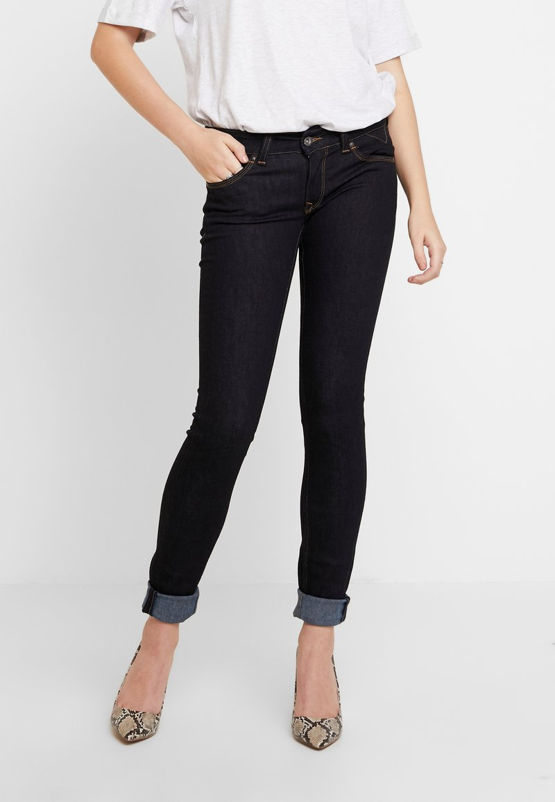 Tommy Jeans - LOW RISE SOPHIE - Jeans Skinny Fit - niceville dark