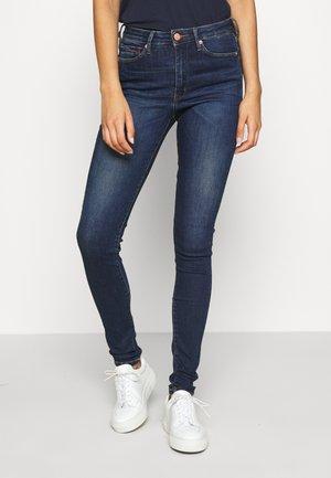 SYLVIA SUPER - Jeans Skinny - knox dark blue