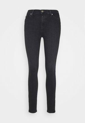 NORA ANKLE ZIP - Jeans Skinny Fit - bird black stretch
