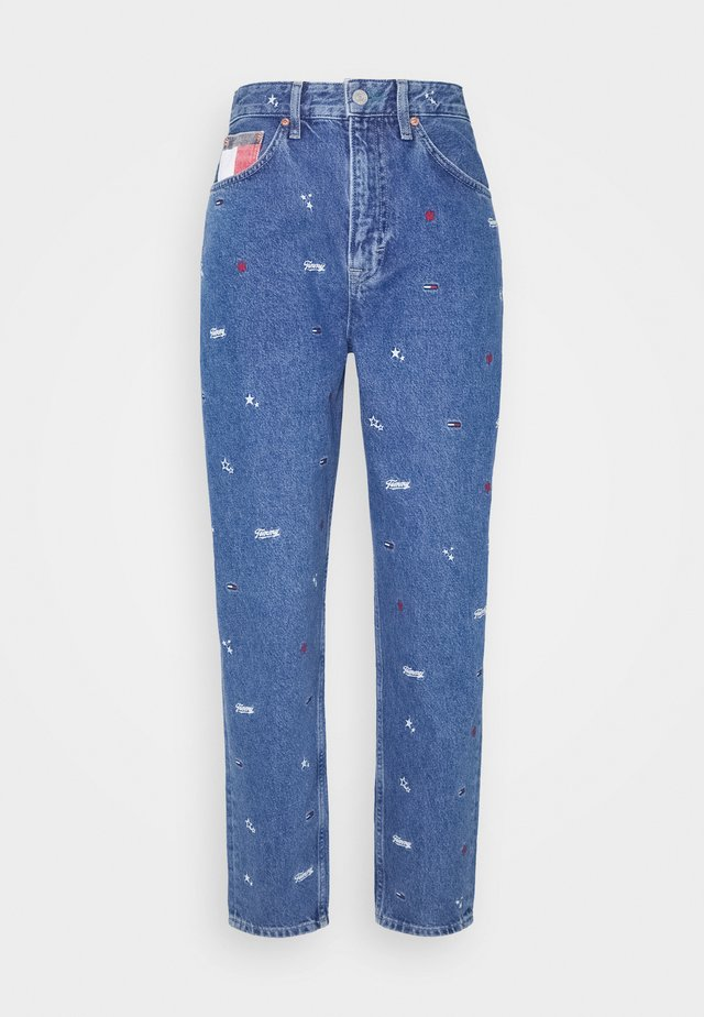 MOM - Jeans Relaxed Fit - blue rigid