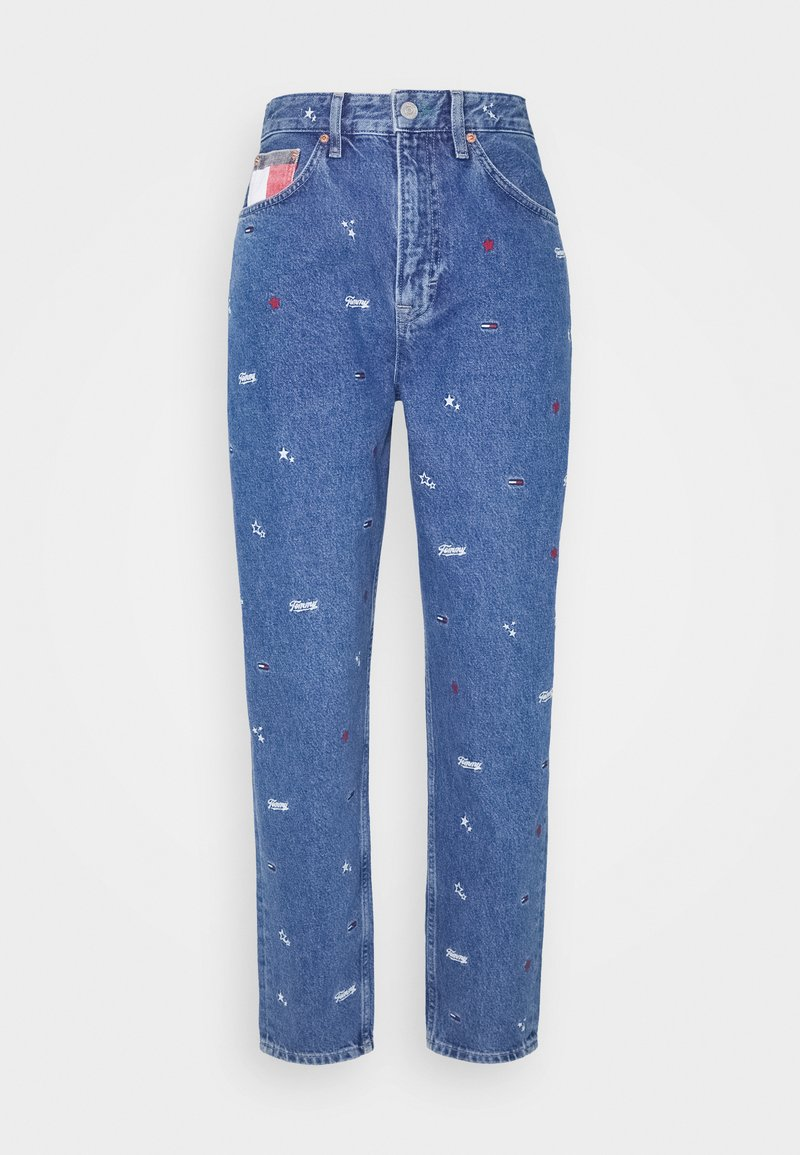 Tommy Jeans - MOM - Jeans baggy - blue rigid