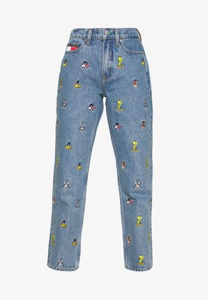 LOONEY TUNES MOM - Jeans Relaxed Fit - light blue denim