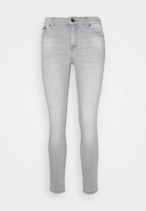 NORA MR SKINNY ANKLE - Jeansy Skinny Fit - light grey