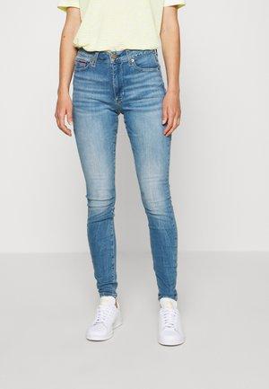 SYLVIA SUPER - Jeans Skinny - denim blue
