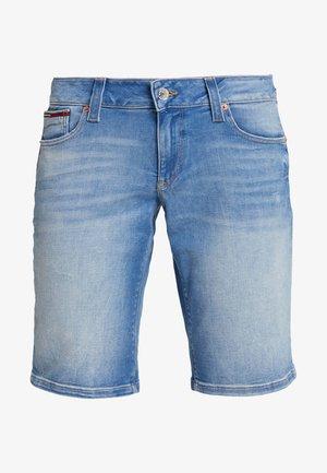 CLASSIC - Denim shorts - coney light blue