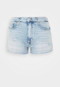 Tommy Jeans - HOTPANT  - Farkkushortsit - light blue - 3