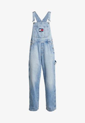 NEW DUNGAREE - Lacláče - light blue