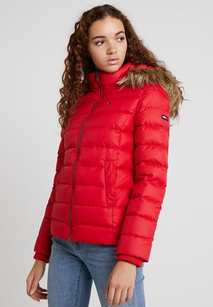 ESSENTIAL HOODED - Down jacket - samba