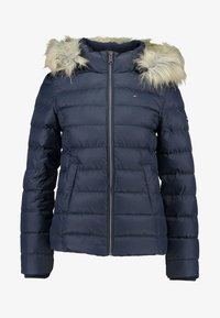 Tommy Jeans - ESSENTIAL HOODED - Doudoune - black iris - 7