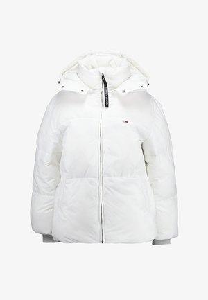 OVERSIZED JACKET - Zimní bunda - bright white
