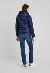 Tommy Jeans - QUILTED ZIP THRU - Light jacket - black iris - 2