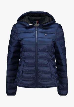 QUILTED ZIP THRU - Veste mi-saison - black iris