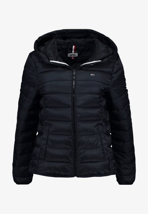 QUILTED ZIP THRU - Veste mi-saison - black