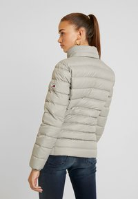Tommy Jeans - ESSENTIAL HOODED JACKET - Down jacket - mourning dove - 4