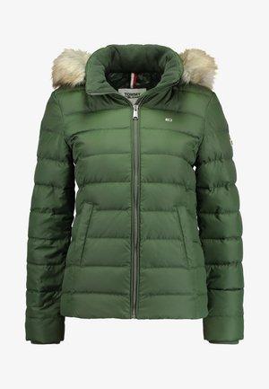 ESSENTIAL HOODED JACKET - Down jacket - kombu green