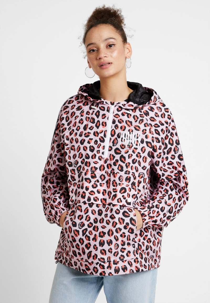 Tommy Jeans - PRINT PIPING DETAIL POPOVER - Kurzmantel - multi-coloured