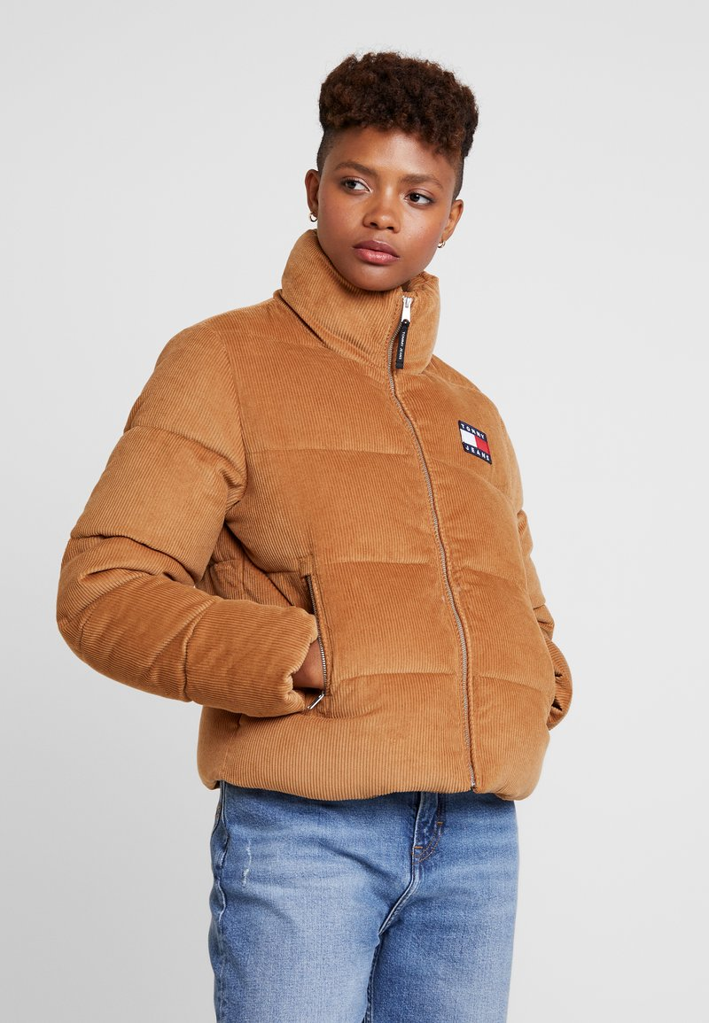 Tommy Jeans - JACKET - Winter jacket - tobacco brown