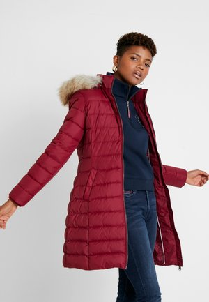 ESSENTIAL HOODED COAT - Donsjas - rhododendron