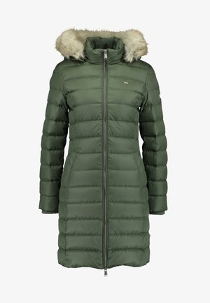 ESSENTIAL HOODED COAT - Down coat - kombu green