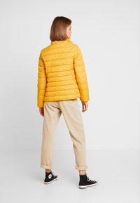 Tommy Jeans - ESSENTIAL HOODED JACKET - Winter jacket - golden glow - 4