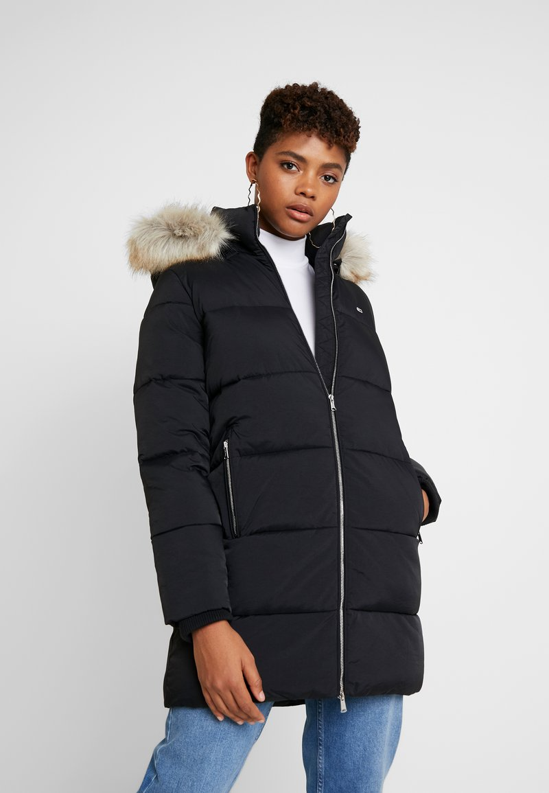 Tommy Jeans - MODERN COAT - Winter coat - tommy black