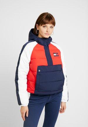DETAIL POPOVER - Winter jacket - black iris / multi