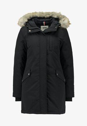 TECHNICAL  - Kabát zprachového peří - black