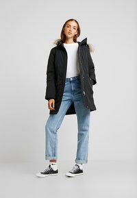 Tommy Jeans - TECHNICAL  - Down coat - black - 1
