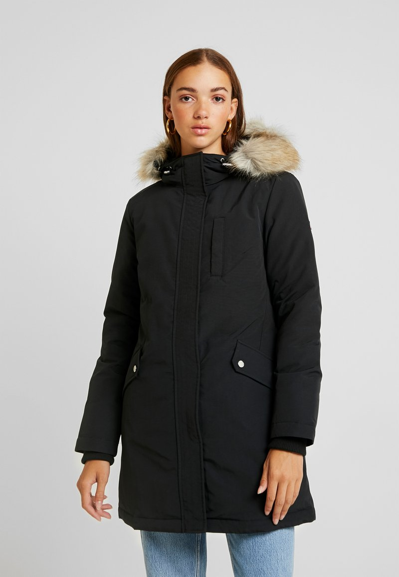Tommy Jeans - TECHNICAL  - Down coat - black
