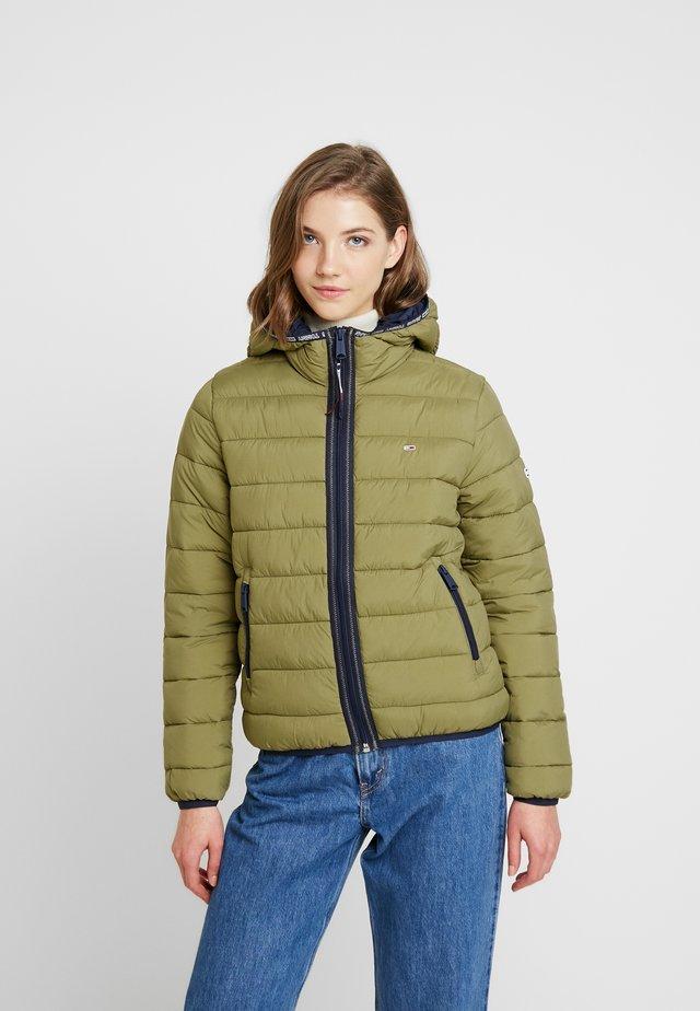 Winter jacket - martini olive