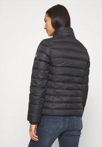 Tommy Jeans - BASIC HOODED JACKET - Light jacket - black - 4