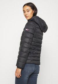 Tommy Jeans - BASIC HOODED JACKET - Light jacket - black - 3