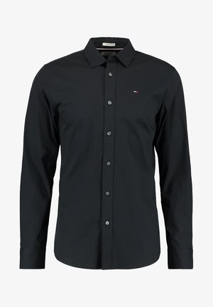 ORIGINAL STRETCH SLIM FIT - Camisa - black