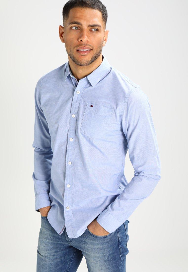 Tommy Jeans - ORIGINAL END ON END REGULAR FIT - Shirt - bright cobalt