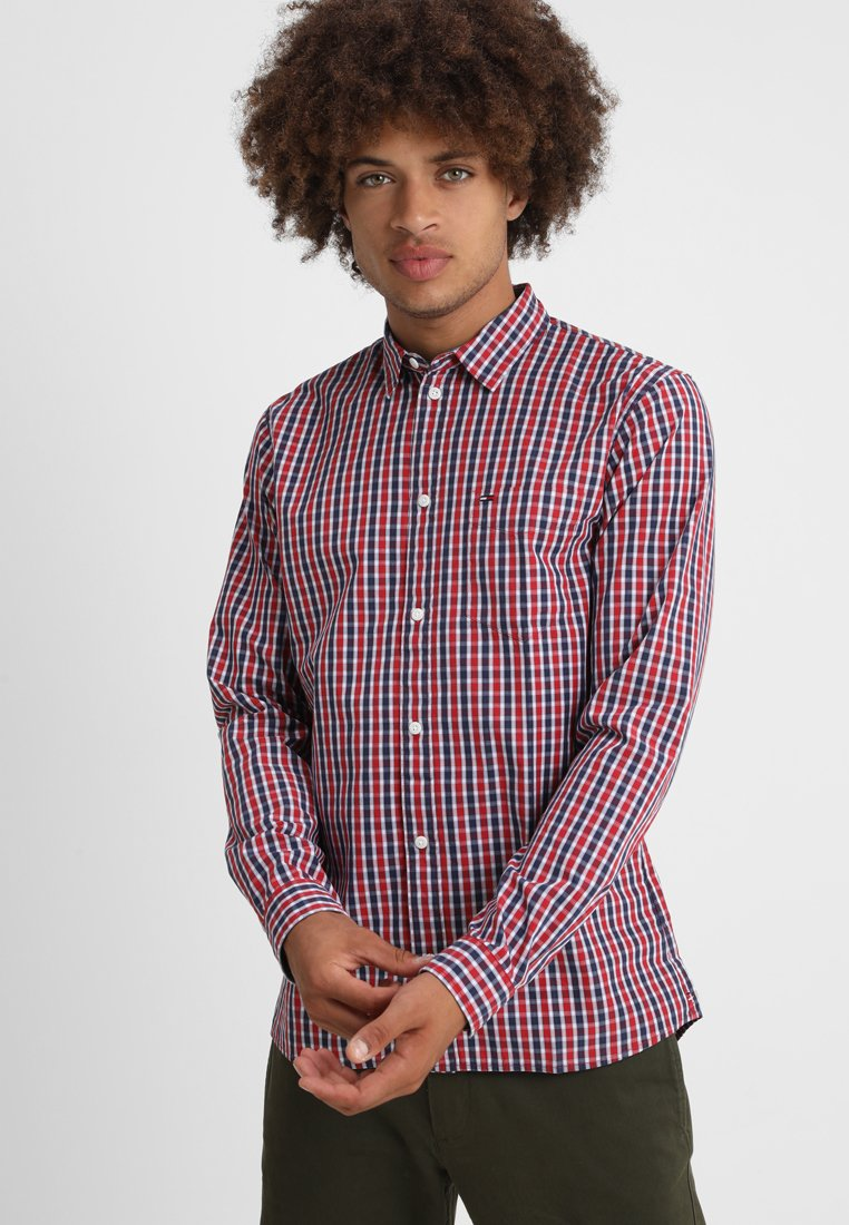 Tommy Jeans - ESSENTIAL MINI CHECK - Hemd - red