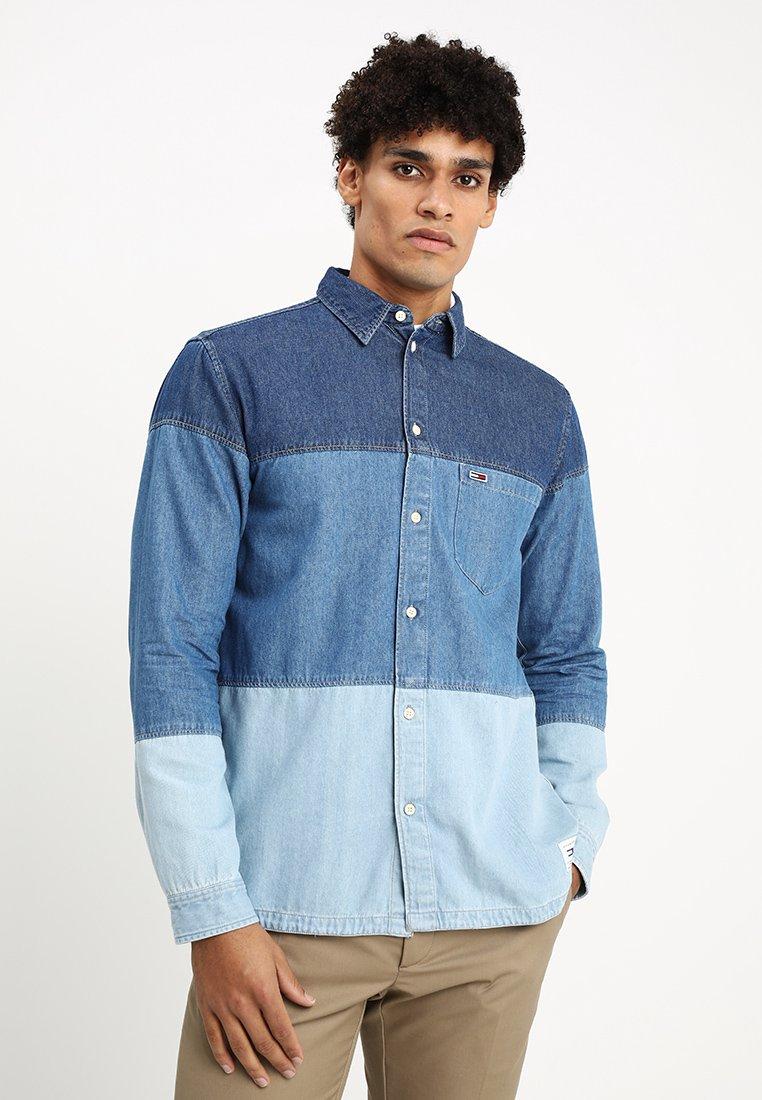 Tommy Jeans - TJM BLOCK - Hemd - blue