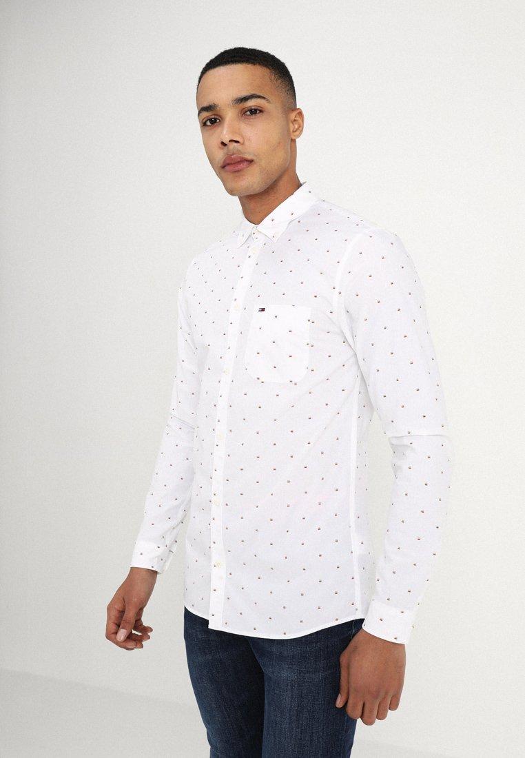Tommy Jeans - DOBBY - Camisa - white